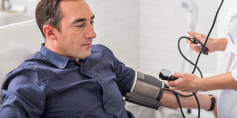 Bluthochdruck beim Mann