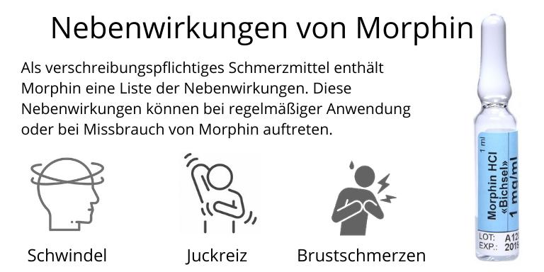 Morphin Nebenwirkungen
